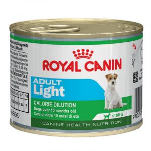 Консервы для собак, Royal Canin Adult Light, предрасположенных к полноте