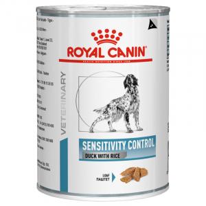 Консервы для собак, Royal Canin Sensitivity Control, с пищевой аллергией/непереносимостью, с уткой и рисом