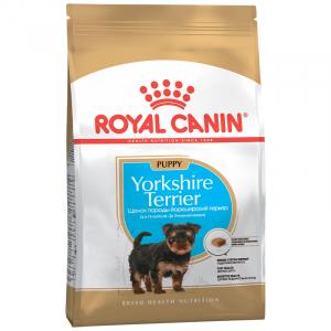 Royal Canin Yorkshire Terrier Junior, для щенков собак породы йоркширский терьер