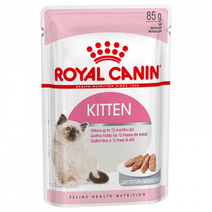 Пауч для котят с 4 до 12 месяцев, Royal Canin Kitten Instinctive (в паштете)