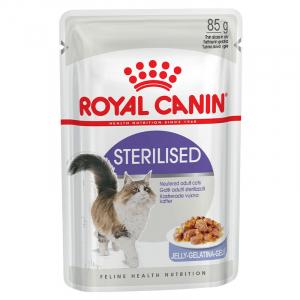 Пауч для стерилизованных кошек, Royal Canin Sterilised, старше 1 года (в желе)