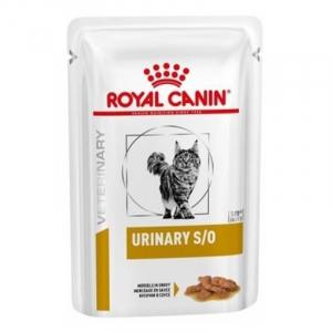 Пауч для кошек, Royal Canin Urinary S/O Feline With Chicken Gravy, при мочекаменной болезни