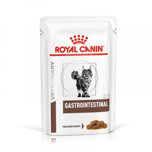 Пауч для кошек, Royal Canin Gastro Intestinal, при заболеваниях печени и нарушениях пищеварения