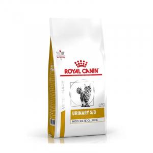 Корм для кошек, Royal Canin Urinary S/O Moderate Calorie, при предрасположенности к избыточному весу, при лечении мочекаменной болезни, после кастрации
