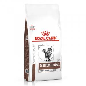 Корм для кошек, Royal Canin Gastro Intestinal Moderate Calorie GIM35 Feline, при панкреатите и нарушениях пищеварения