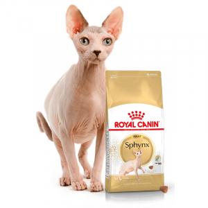 Корм для кошек породы сфинкс, Royal Canin Sphynx Adult, в возрасте от 1 года и старше