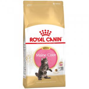 Royal Canin Maine Coon Kitten, Корм для котят породы мейн-кун, с птицей