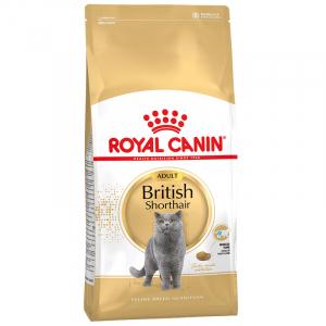 Корм для кошек, Royal Canin British Shorthair Adult, для кошек породы британская короткошерстная и породы шотландская вислоухая в возрасте от 1 года и старше