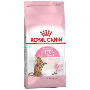 Корм для стерилизованных котят, Canin Kitten Sterilised, с момента операции до 12 месяцев