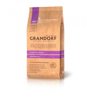 Корм для собак крупных пород, Grandorf, с ягненком и рисом