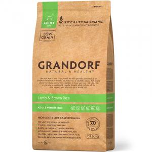 Корм для собак мини пород, Grandorf, с ягненком с рисом