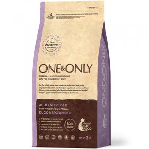 ONE&ONLY Duck & Rice Adult STERILIZED, с уткой и рисом для стерилизованных кошек