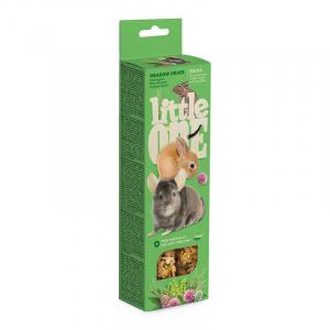 Палочки Little One для морских свинок, кроликов, шиншилл с луговыми травами (2х55 гр)