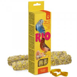 RIO Палочки для всех видов птиц с яйцом и ракушечником