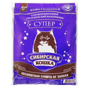 Сибирская Кошка Супер комкующийся 20