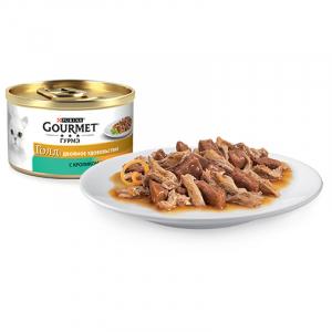 Gourmet двойное удовольствие с кроликом и печенью