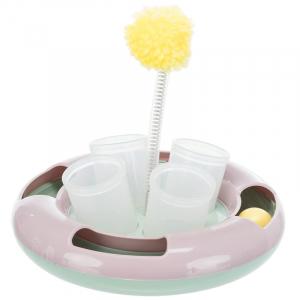 """TRIXIE, Развивающая игрушка для кошки Junior """"Snack & Play"""", ⌀ 18 см"""